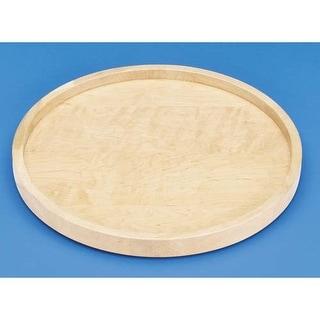 "Rev-A-Shelf 4WLS001-18-52 Wood Classic 18"" Diameter Full Circle Single Shelf Lazy Susan"