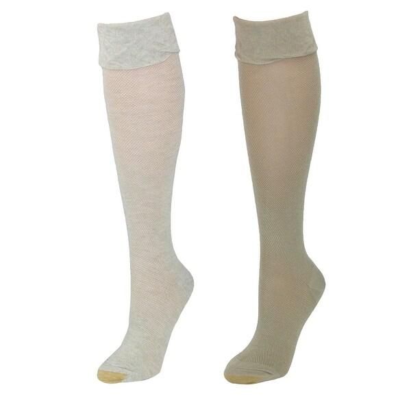 Shop Gold Toe Women's Non Binding Knee High Socks (2 Pair