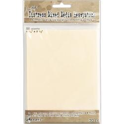 "4.25""X5.5"" - Tim Holtz Distress Mixed Media Heavystock Tags 20/Pkg"