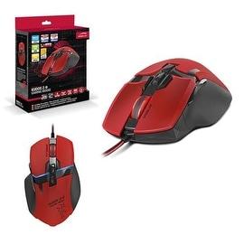 Speedlink Red Maximum 8200-dpi Ultra-precise Laser Sensor Kudos Gaming Mouse For PC