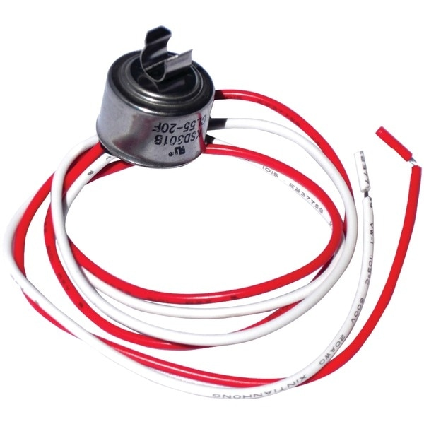 Napco Cl50 Universal Refrigerator Defrost Thermostat With Clips (50Deg )