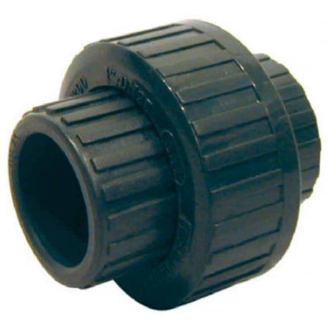 Homewerks 512-14-12-12B PVC Schedule 80 Solvent-Weld Slip Union, Gray, 1/2