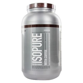 Nature's Best Isopure with Coffee Espresso 3Lb
