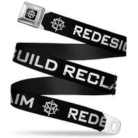 Seth Rollins Tri R Icon Full Color Black White Seth Rollins Redesign Seatbelt Belt