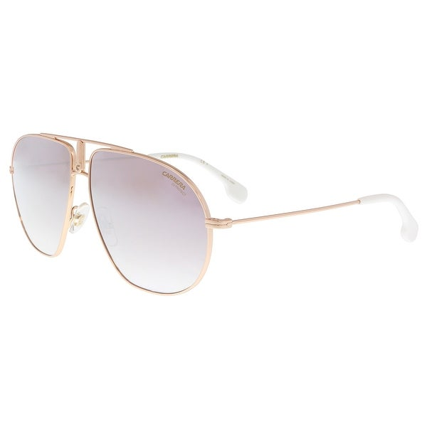06fd209ba32 Shop Carrera BOUND 0DDB-NQ Gold Copper Aviator Sunglasses - 60-12 ...