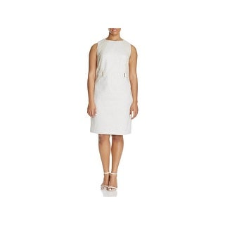 Calvin Klein Womens Plus Cocktail Dress Sheath Knee-Length (3 options available)
