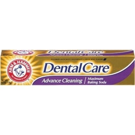 ARM & HAMMER Dental Care Fluoride Toothpaste, Advance Cleaning, Maximum Strength, Fresh Mint 6.30 oz