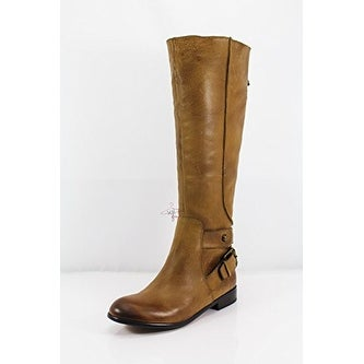Enzo Angiolini Womens Valetta Almond Toe Knee High Fashion Boots - 5.5