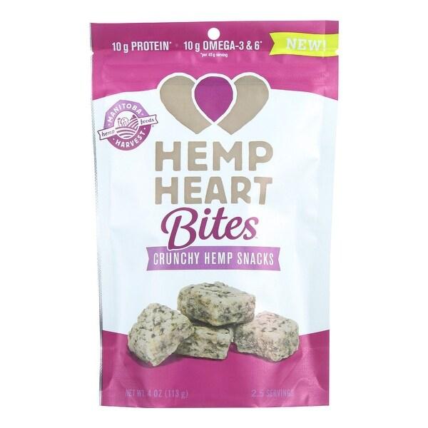 Manitoba Harvest Hemp Heart Bites - Original - 4 oz - Case of 12