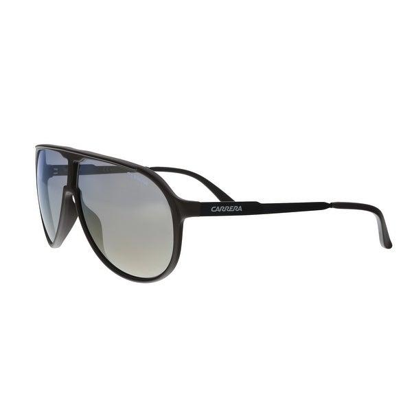 8ec8020a5f Shop Carrera New Champion 08H7 Dark Brown Aviator Sunglasses - no ...
