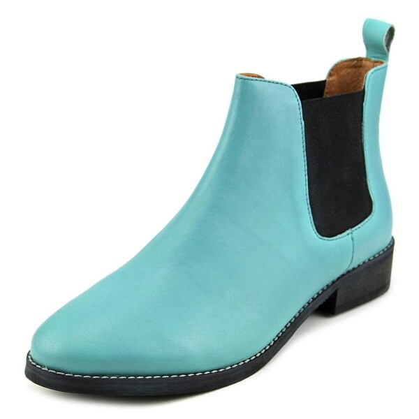 Eight Second Angel Caroline Chelsea Boot Women Turquoise Boots