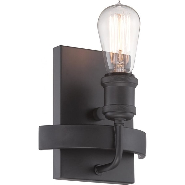 """Nuvo Lighting 60/5721 Paxton 1-Light 9-3/8"""" Tall Wall Sconce - ADA Compliant - Aged Bronze - n/a"""