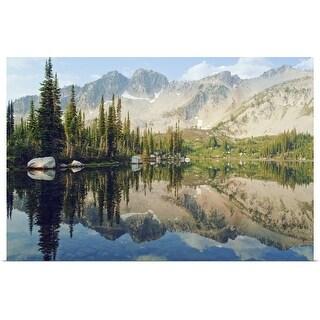 """Eaglecap Wilderness, Oregon, United States Of America"" Poster Print"