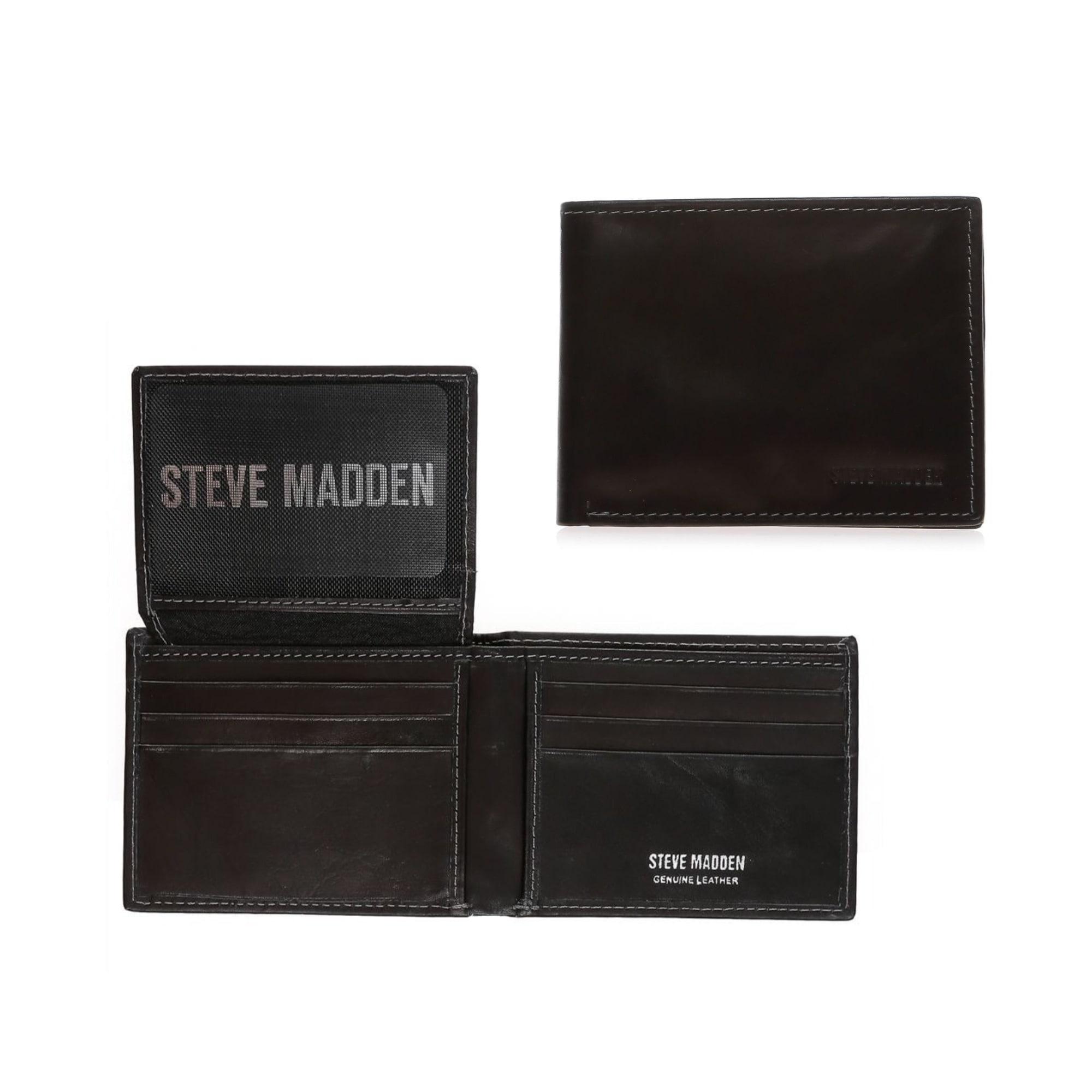 رجاء تناوب تنبؤ Steve Madden Mens Wallet Psidiagnosticins Com