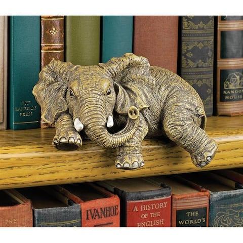 Ernie The Elephant Shelf Sitter - 5.5 x 3.5 x 2.5