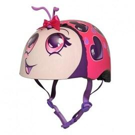 Raskullz 2015 Girls Love Bug Youth Bicycle Helmet Pink 3 48