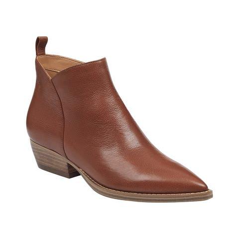 Marc Fisher Ltd Obrra Leather Bootie