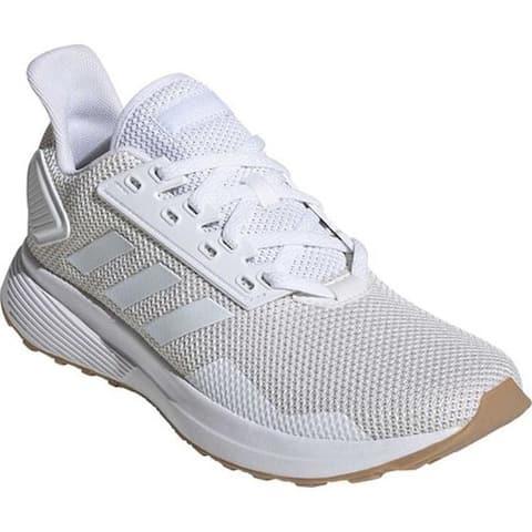 adidas Women's Duramo 9 Running Shoe FTWR White/FTWR White/Raw White