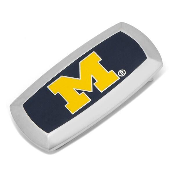 University of Michigan Wolverines Cushion Money Clip