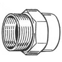 "Plumb Pak PP850-66 Hose Adapter 3/4"""