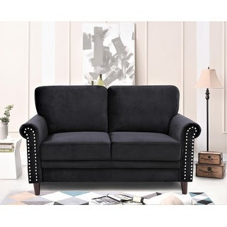 Link to Priddy Chesterfield Loveseat Similar Items in Living Room Furniture