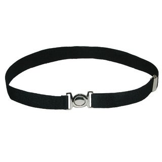 CTM® Kids' Circle Clasp Adjustable Stretch Belt - One Size