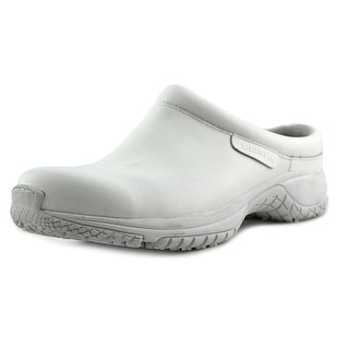 Merrell Encore Pro Grip Round Toe Synthetic Mules
