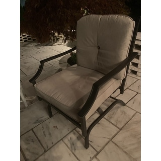 PATIO FESTIVAL Rocking Motion Chair (2-Pack)