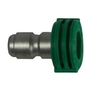 Forney 75155 Quick Connect Flushing Nozzle, 4.5 mm, 4000 Psi, Green