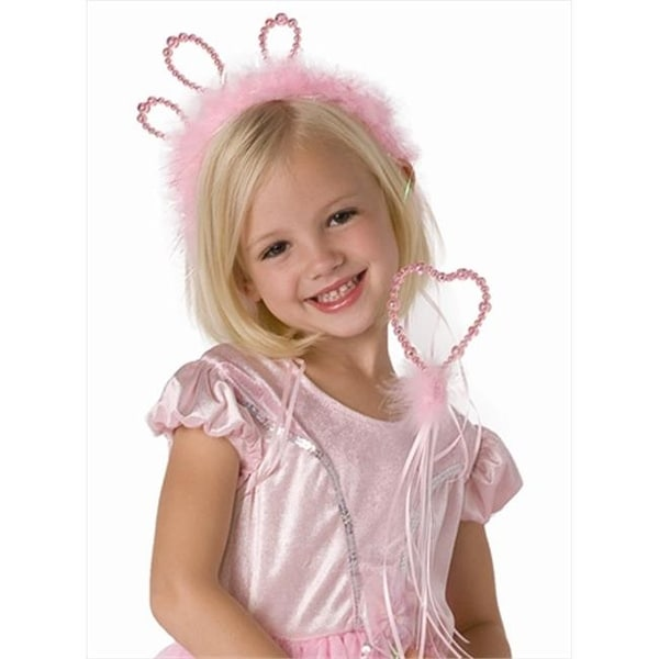 Little Adventures 66081 Wand and Tiara Set - Pink