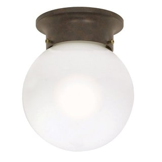 Nuvo Lighting 60/247 1 Light Flush Mount Indoor Ceiling Fixture - 6 Inches Wide