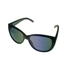 Esprit Womens Black Fashion Plastic Sunglass Cateye, Smoke Lens 19378 538