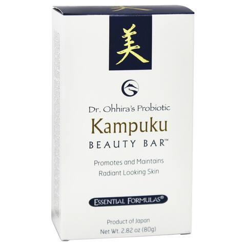Essential Formulas - Dr. Ohhira's Probiotic Kampuku Beauty Bar Soap - - 2.82 oz.