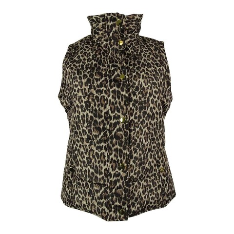 Style & Co. Women's Animal Print Vest