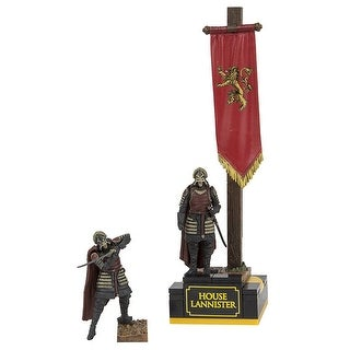 McFarlane Toys Game of Thrones Lannister Banner Pack Construction Set - Multi-Colored