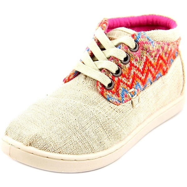 Toms Bota Round Toe Canvas Chukka Boot