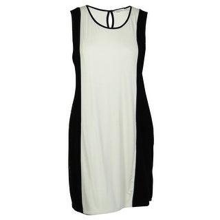 Calvin Klein Women's Colorblocked Mesh Dress - 2x