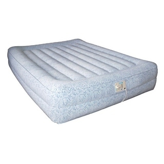 Aerobed Raised Inflatable Elevated Mattress Airbed - grey