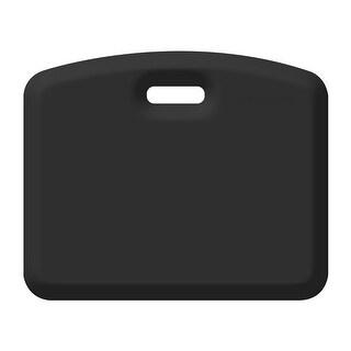 WellnessMats Anti-Fatigue Kitchen/Gardening Companion Mat, 18 Inch by 22 Inch, Black