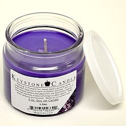 Link to 1 Pc 5 oz Lilac Soy Jar Candles 3.5 in. diameter x 2.75 in. tall Similar Items in Decorative Accessories