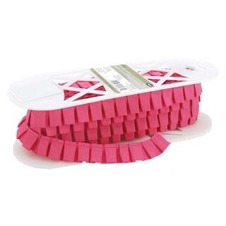 """Pink - Simplicity Box Pleat Taffeta .938""""X8yd (8/Pack)"""