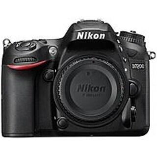 Nikon D7200 24.2 Megapixel Digital SLR Camera Body Only - Black - (Refurbished)