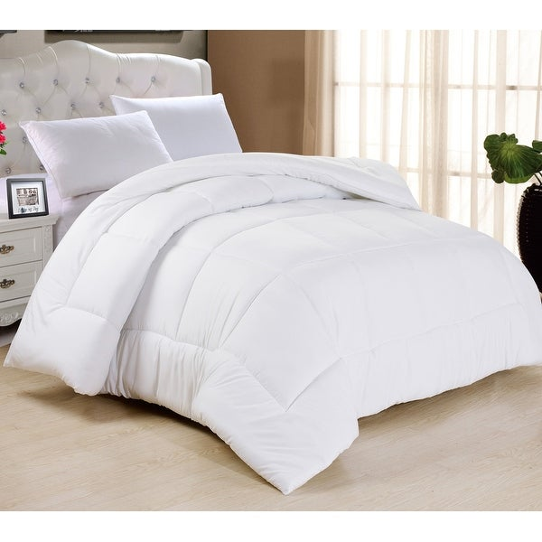 HC Collection All Season Down Alternative Comforter, Hypoallergenic