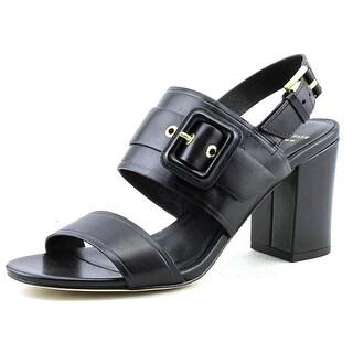 Cole Haan Amavia High Sandal Open-Toe Leather Slingback Sandal