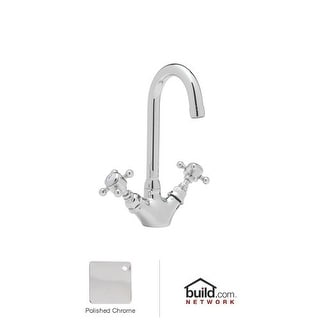 Rohl A1467XM-2 Country Kitchen Bar Faucet with Metal Cross Handles