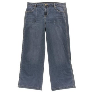 Calvin Klein Womens Flare Jeans Denim Stretch - 33