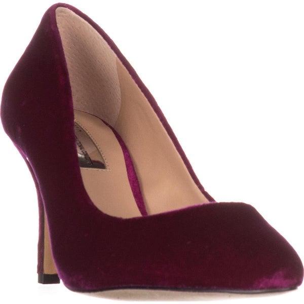 I35 Zitah5 Pointed-Toe Heels, Deep Fuchsia