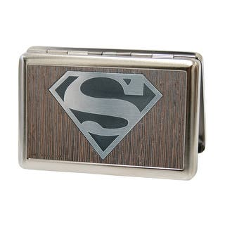 Superman Logo Marquetry Black Walnut Metal Business Card Holder|https://ak1.ostkcdn.com/images/products/is/images/direct/6a5e7dface8143382cb42715ce3f2226a9733824/Superman-Logo-Marquetry-Black-Walnut-Metal-Business-Card-Holder.jpg?impolicy=medium