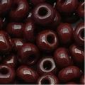 Czech Seed Beads 6/0 Dark Brown Opaque (1 Ounce) - Thumbnail 0