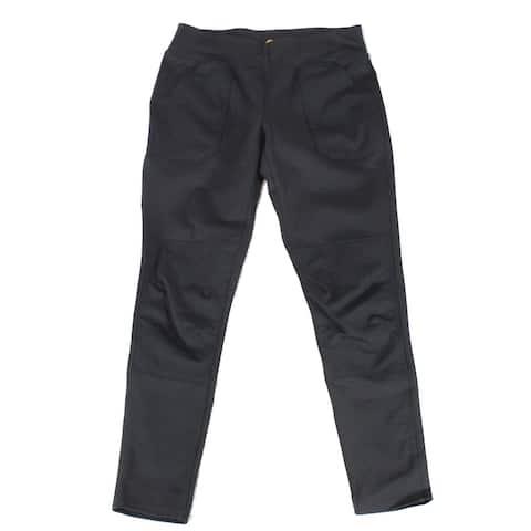 Carhartt Womens Pants Black Size Medium M Pull-On Wide Leg Stretch